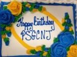 PSGCNJ Birthday Cake