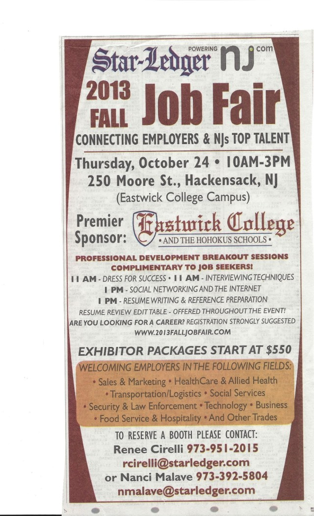 job fair oct 24